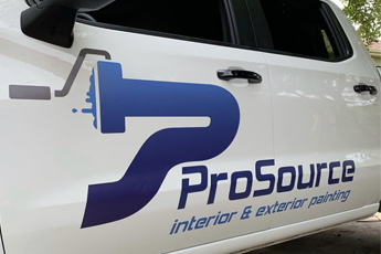 Pro Source Truck Decal
